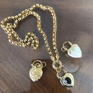 Joan Rivers Statement Charm Necklace